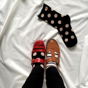 Socks & heels