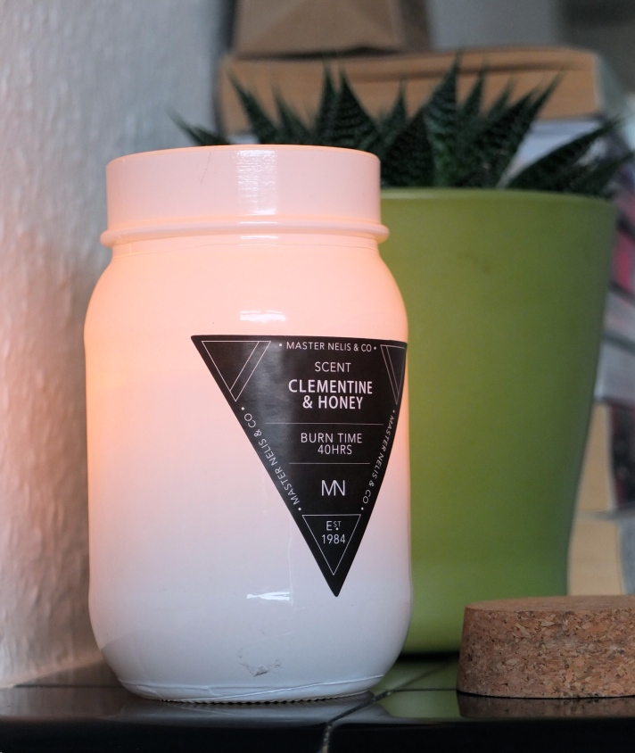 Clementine & Honey candle